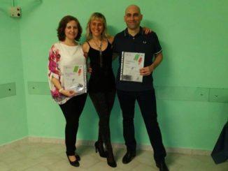 Consegna del diploma MSP Italia Coni