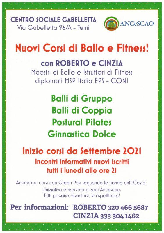 Volantino Ballo e Fitness 2021